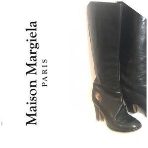 Maison Martin Margiela  Knee High Leather Boots